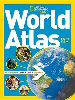 World Atlas, 4th edition (National Geographic Kids),National Geographic Kids,Exc