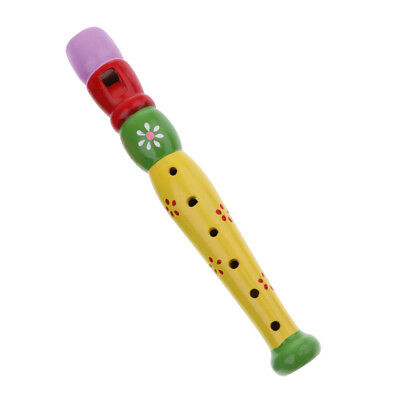 Whistle Flute Toy Early Childhood Lehrmittel Musical Spielzeug für Kinder /