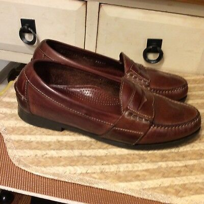 03d1e729638 Cole Haan Men s Shoes Size 8.5 D Penny Loafers Slip On Leather Made in  Mexico