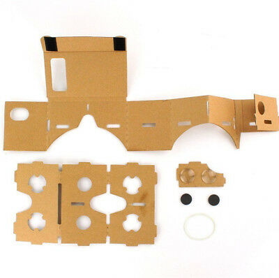 3D Virtual Reality Cardboard Headset Full With NFC For Google/Android/IPhone