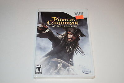 Pirates of the Caribbean At World`s End Nintendo Wii Video Game New Sealed