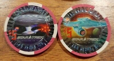 Las Vegas Hilton Star Trek 2006 Set Of Two From 2006 Convention 1000 Ea Made!!