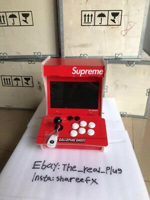 Supreme Arcade Machine X Galloping Ghosts UNRELEASED EARLY ACCESS DROPPING 2019