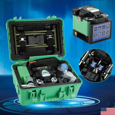 A-80S Fiber Optic Welding Splicing Machine Optical Fiber Fusion Splicer 50/60Hz