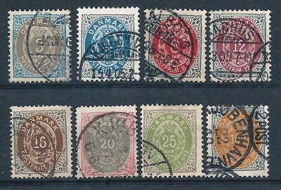 """Denmark 1875 """"Ore"""" Selection to 100 ore Used Good CV"""