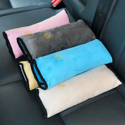 2PCS Kids Car Safety Harness Cushion Pillow Shoulder Seat Cover Belt Pad Strap H