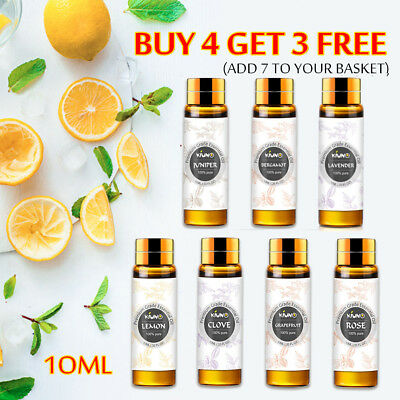 10ML Aromatherapy Essential Oils 100% Natural Pure Essential Oil Fragrances Hot