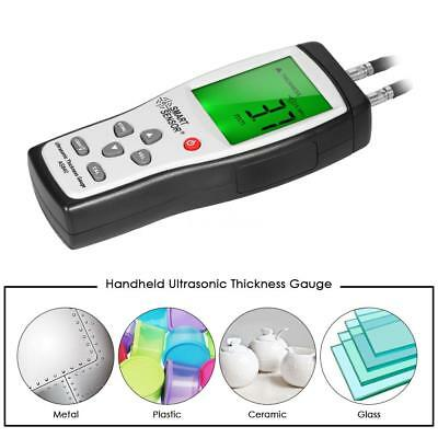 Portable 1.2~225mm Metal Digital Ultrasonic Thickness Gauge Tester Meter E5A3