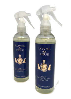 Loyal & True Dog Conditioner or Detangling Serum Spray 250ml One handed Spray