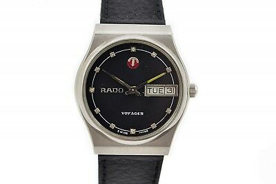 Vintage Rado Voyager Stainless Steel Automatic Midsize Watch 165