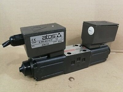 Atos Proportional CETOP 3 Ng6 Directional Valve DHZOA 073S5 With E-MI-AC-01F #