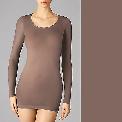 Wolford Buenos Aires Pullover • clove  ... Perfektes Basic für feminine Stylings