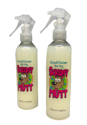 Scruffy Mutt Dog Spray Conditioner- 250ml Free P&P UK Product