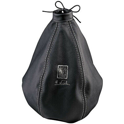 Nardi Black Leather Gear Gaiter -