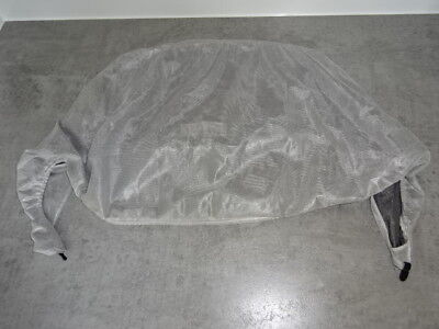 Genuine BUGABOO Frog Breezy Sun fabric mosquito Net Mesh Silver