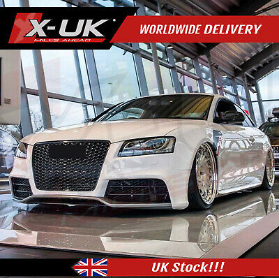 RS5 style front bumper upgrade for Audi A5/S5 07-12 2 doors without front grill