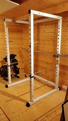 Power Rack / Squat Rack (Special reduced height) with built-in pull-up bar
