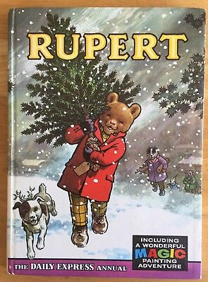 Rupert Annual 1965 Original Not Inscribed Not Price Clipped Magic Paintings Done