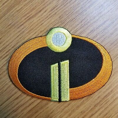 The Incredibles II 2 Movie Costume Logo Patch 3 1/4 inches wide
