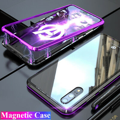 360° Magnetic Adsorption Case for Hauwei P20 Lite/Pro Nova 3i Hard Bumper Cover