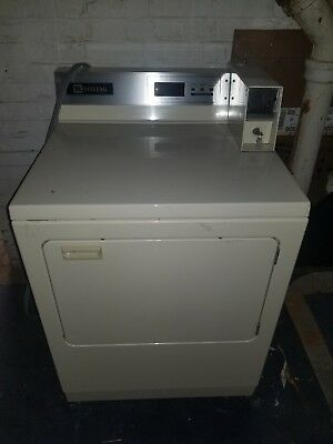 Maytag Commercial Coin Operated Dryer Compiter Touch Control Front Load Electric