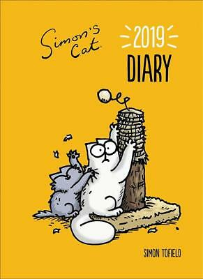 Simon's Cat Desk Diary 2019 Official A5 Size Week To View Hardback Ring Bound