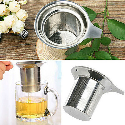 Stainless Steel Mesh Tea Infuser Metal Cup Strainer Strainer Loose Leaf Filter