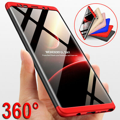 For Samsung Galaxy Note 9/Note 8 S9 S8 Case 360 Full Coverage Hybrid Armor Cover