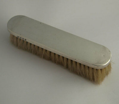 George V Solid Silver Clothes Brush - Birm. 1927