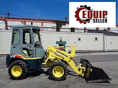 Yanmar V4-5 Wheel Loader Skid Steer - Enclosed Cab - 4x4 - Diesel