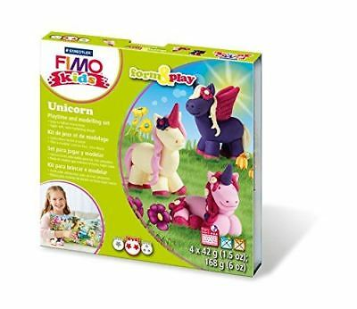 Staedtler Fimo Kits For Kids Form and Play Clay Set Unicorn  (8034 19 LZ)