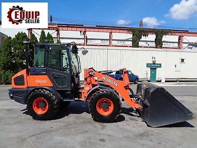 2016 Kubota R630 Wheel Loader - Enclosed Cab