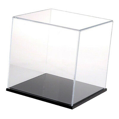 MagiDeal Clear Acrylic Case Box 25cm Showcase Dustproof Cube for Toy Gadgets