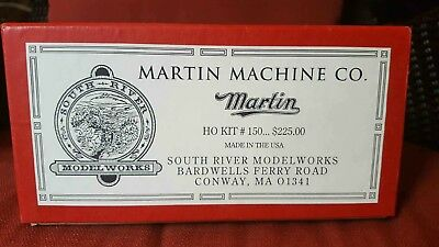 South River Modelworks Martin Machine Co. HO Scale