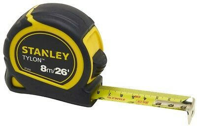 Stanley Tylon Tape Pocket Matt Finish 8m/26ft New