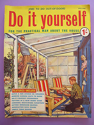 Vintage do it yourself magazine october 1958 450 picclick uk vintage magazine do it yourself july 1960 solutioingenieria Images