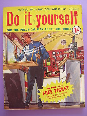 Vintage do it yourself magazine october 1958 450 picclick uk vintage magazine do it yourself september 1960 solutioingenieria Images