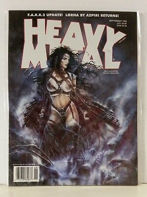 Heavy Metal Magazine Volume 22 #4 September 1998 Royo Bogard Pahek Goffaux Moore