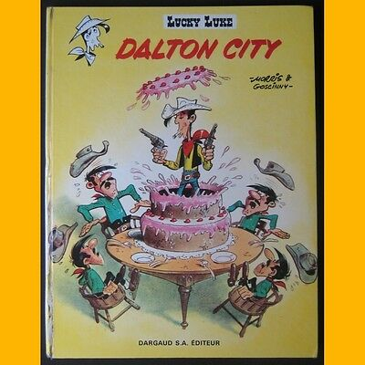 Lucky Luke DALTON CITY Morris Goscinny EO 1969