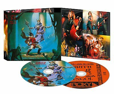 CIRITH UNGOL King Of The Dead Ultimate Ed.CD/DVD