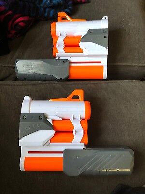 2 Nerf Modulus Tri Strike - Mega Dart Barrel Extension Underbarrel Shotgun