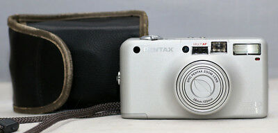 *MINT* Pentax Espio 120SW 35mm Point & Shoot Camera 28-120mm Lens SN: 5298788