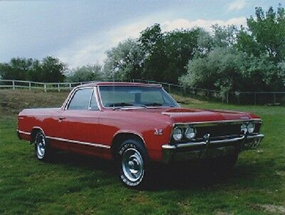 """1967 Chevrolet Chevelle"" (Picture on Postcard)  {Postcard} (V-19)"