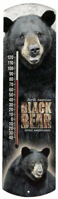 Heritage America by MORCO 375BB Black Bear Outdoor or Indoor Thermometer,
