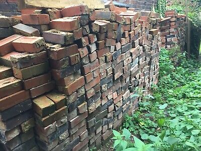 RECLAIMED IMPERIAL SIZED RED BRICKS - 30p EACH  BRICK
