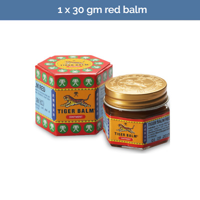 TIGER BALM Plus Red Ointment for relief of muscular aches & pains 30g