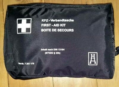 GENUINE BMW OEM FIRST AID KIT- NEW - EXP October  2022