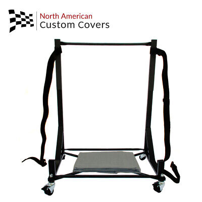 Mercedes Hardtop Stand Storage Trolley Cart Rack & Hard Top Dust Cover (050B)