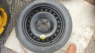 """Volvo C30 R Design 2010-2013 17"""" Space Saver Spare Wheel &tyre Fast And Free P&p"""
