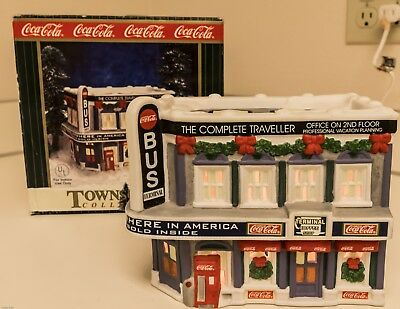 Coca-Cola Town Square Collection Village Bus Station